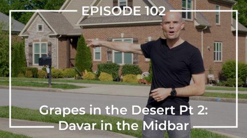 Davar in the Midbar