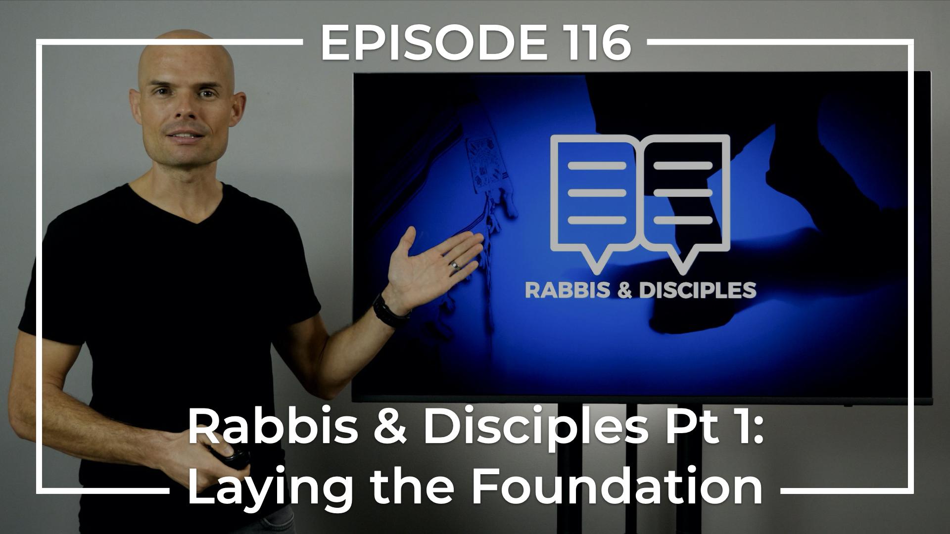 Rabbi's and Disciples